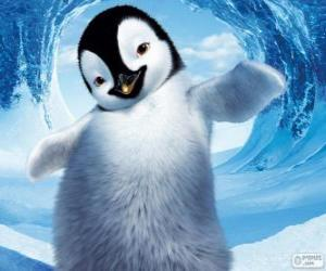 Mumble is an Emperor Penguin puzzle