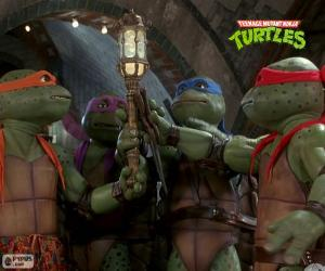 Mutant Ninja Turtles, sewers puzzle