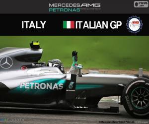 N. Rosberg, 2016 Italian Grand Prix puzzle