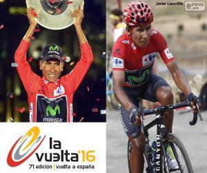 Nairo Quintana, 2016 Vuelta a España puzzle
