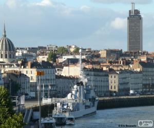 Nantes, France puzzle