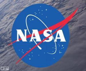 NASA logo puzzle