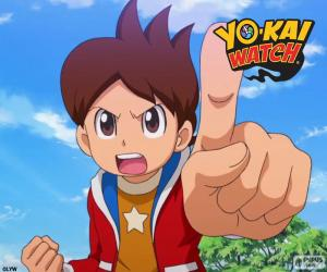 Nathan, Yo-Kai Watch puzzle