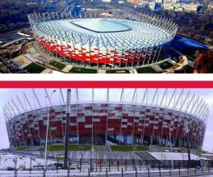 National Stadium, Warsaw (58.145), Warsaw - Poland puzzle