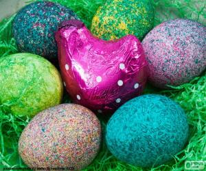 Nest of Easter puzzle