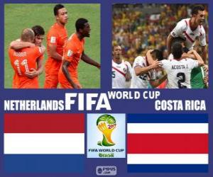 Netherlands - Costa Rica, quarter-finals, Brazil 2014 puzzle