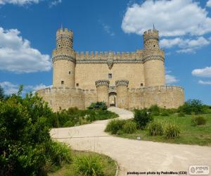 New Castle of Manzanares el Real, Spain puzzle