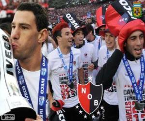 Newell's Old Boys, champion of the Tournament Final 2013, Argentina puzzle
