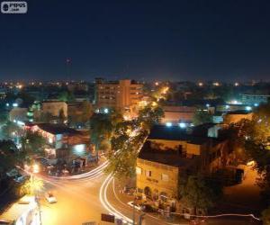 Niamey, Niger puzzle