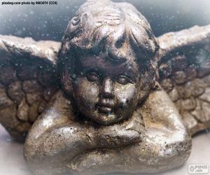 Nice Christmas angel puzzle