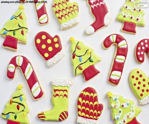 Nice Christmas cookies puzzle