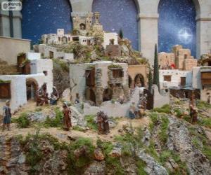 Nice nativity scene puzzle
