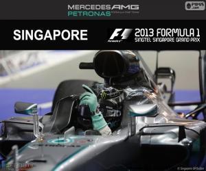Nico Rosberg, 2016 Singapore Grand Prix puzzle