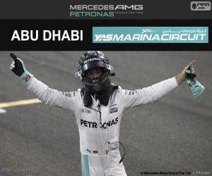 Nico Rosberg, champion F1 2016 puzzle