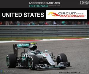 Nico Rosberg, United States GP 2016 puzzle