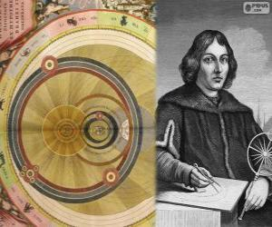 Nicolaus Copernicus (1473-1543), Polish astronomer who formulated the heliocentric theory of the Solar System puzzle