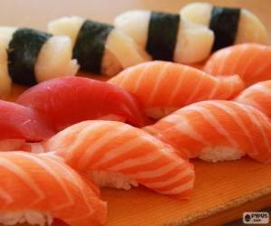 Nigiri Sushi puzzle