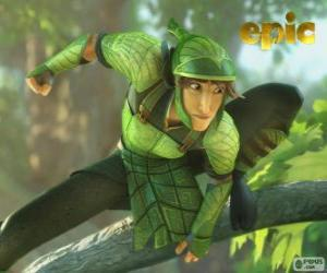 Nod, warrior from the Leaf Men puzzle