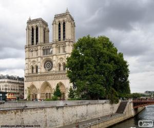 Notre-Dame Cathedral, Paris puzzle