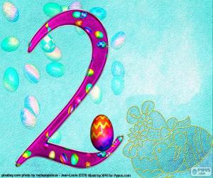 Number two of Easter puzzle