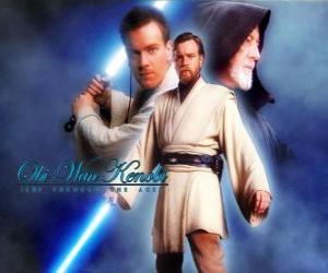 Obi-Wan Kenobi, a Jedi masters puzzle