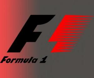 Official Logo Formula 1 puzzle