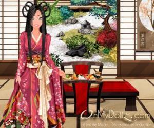 Oh My Dollz oriental puzzle