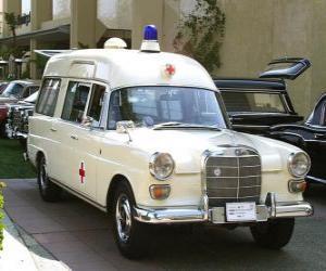 old ambulance puzzle