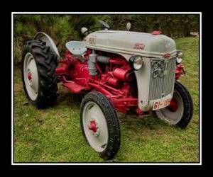 Old tractor puzzle