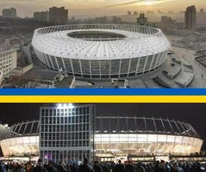 Olimpiysky National Sports Complex (69.055), Kiev - Ukraine puzzle