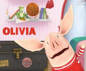 Olivia the Pig puzzle