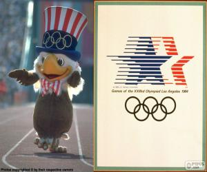 Olympic Games Los Angeles 1984 puzzle