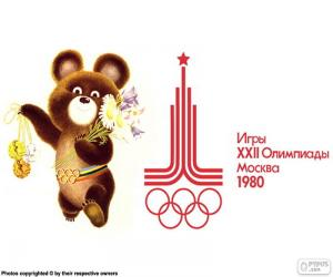Olympic Games Moscow 1980 puzzle