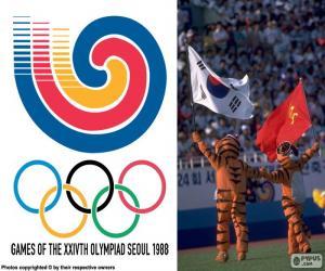 Olympic Games of Seoul 1988 puzzle