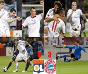 Olympique Lyonnais 0 - FC Bayerrn Munchen 3 puzzle