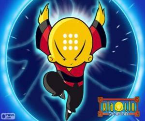 Omi, Xiaolin Dragon of Water, the main protagonist puzzle