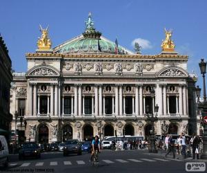 Opéra Garnier, façade puzzle