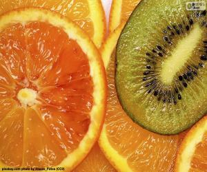 Orange and Kiwi puzzle