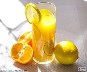 Orange and lemon juice puzzle