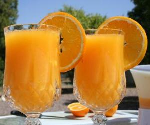 Orange juice puzzle