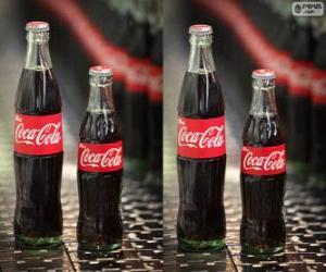 Original Coca Cola bottles puzzle