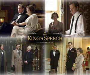 Oscar 2011 - Best Movie: The King's Speech (2) puzzle