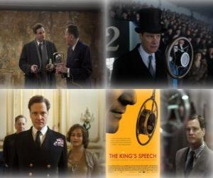 Oscar 2011 - Best Movie: The King's Speech (1) puzzle
