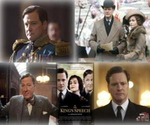 Oscar 2011 - Best Movie: The King's Speech puzzle