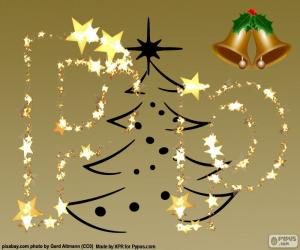 P a Christmas letter puzzle