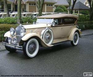 Packard 740 Standard Eight (1930) puzzle