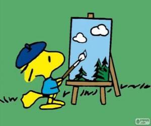 Painter Woodstock puzzle