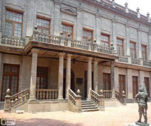 Palace of the count of Buenavista, Mexico City, Mexico puzzle