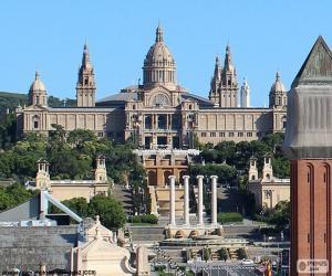 Palau Nacional, Barcelona puzzle