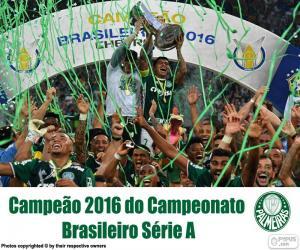 Palmeiras, 2016 Brazil champion puzzle